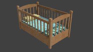 bed kip 3D model