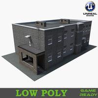 realistic building model