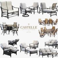 3D castelle coco isle set