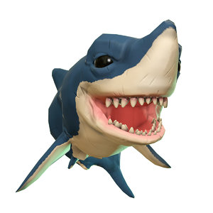 sherman shark 3D