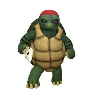 tydeus turtle 3D