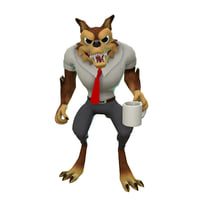 3D walter wolf model