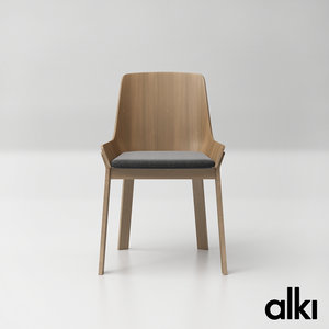 alki koila chair 3D