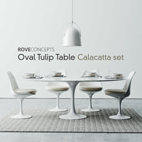 rove set tulip table 3D