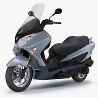 Scooter Motorcycle Suzuki Burgman 200