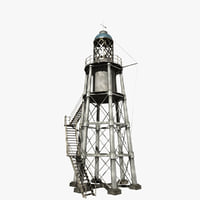 lighthouse light house 3D