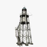lighthouse light house 3D
