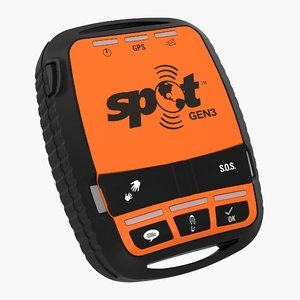 satellite gps messenger tracking 3D model