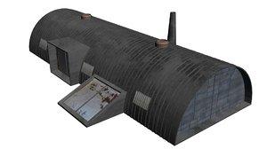 civilian asylum c tiberian 3D model