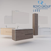 Royo Group - LOOK 1200 Set Depth 44 - 2 Drawers - 1 Door