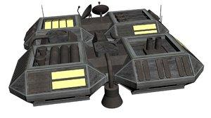 raids house c tiberian 3D