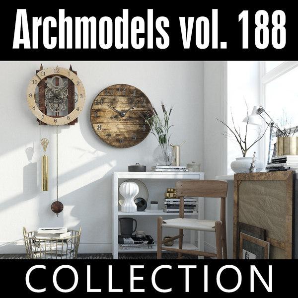 archmodels vol 188 3D model