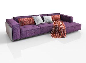modular sofa loft factory model