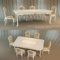tavolo da pranzo venezia 3D model