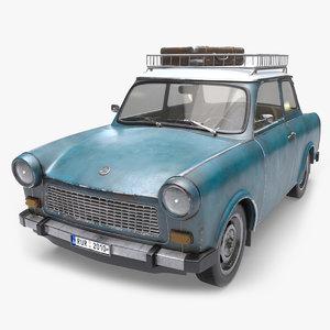3D trabant arnold car model