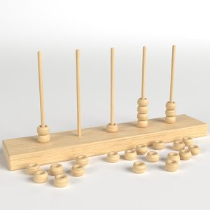 vertical abacus model