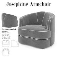 josephine armchair 3D model