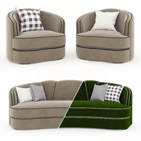 munna josephine armchair sofa model