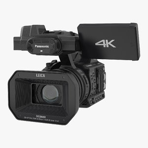 hd camcorder panasonic hc 3D model