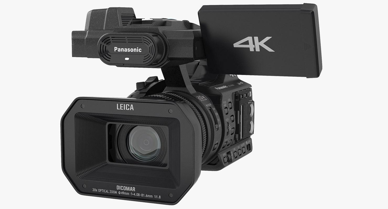 hd camcorder panasonic hc 3D model