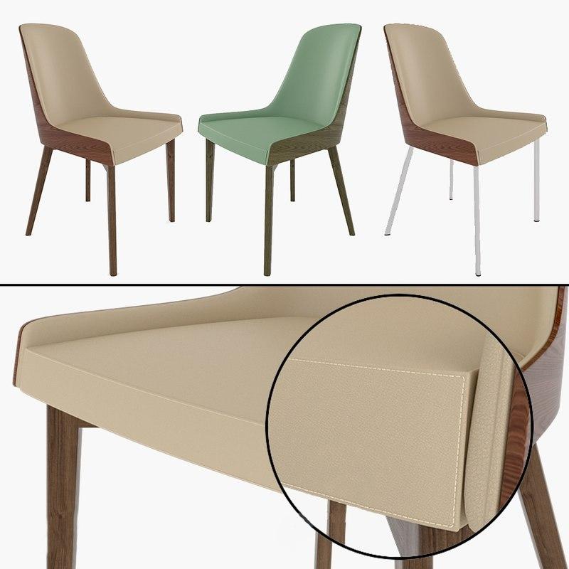 hudson chair 3D