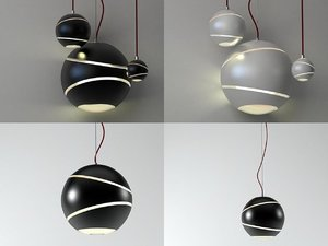 3D bond pendant lamps