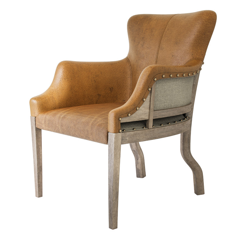 chesterton canvas armchair 3D model