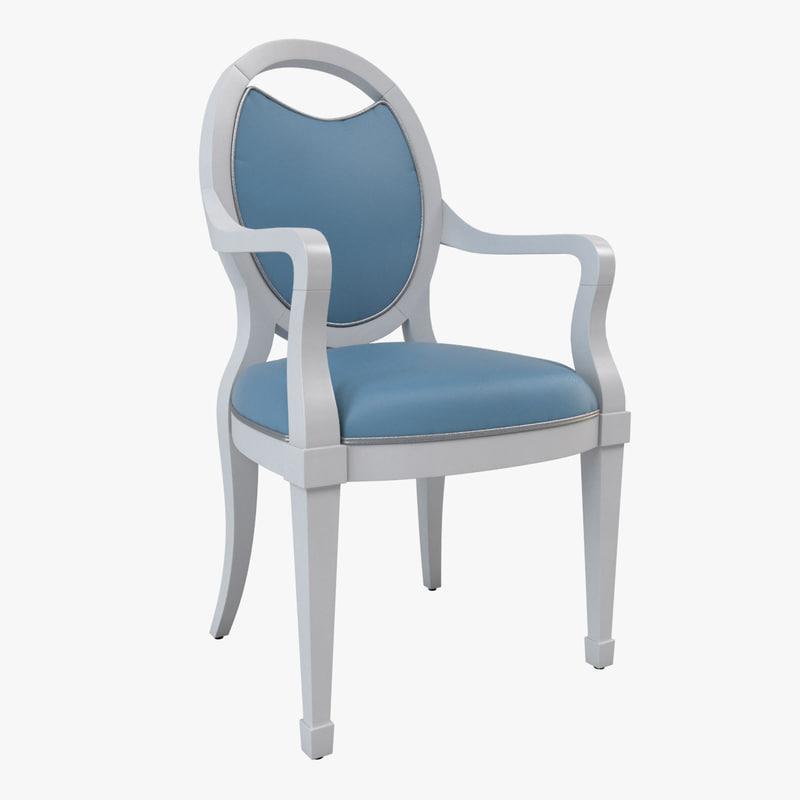 swag armchair 3D