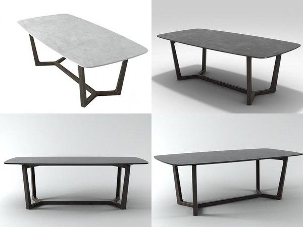 3D concorde table