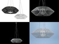 3D v hanglamp model