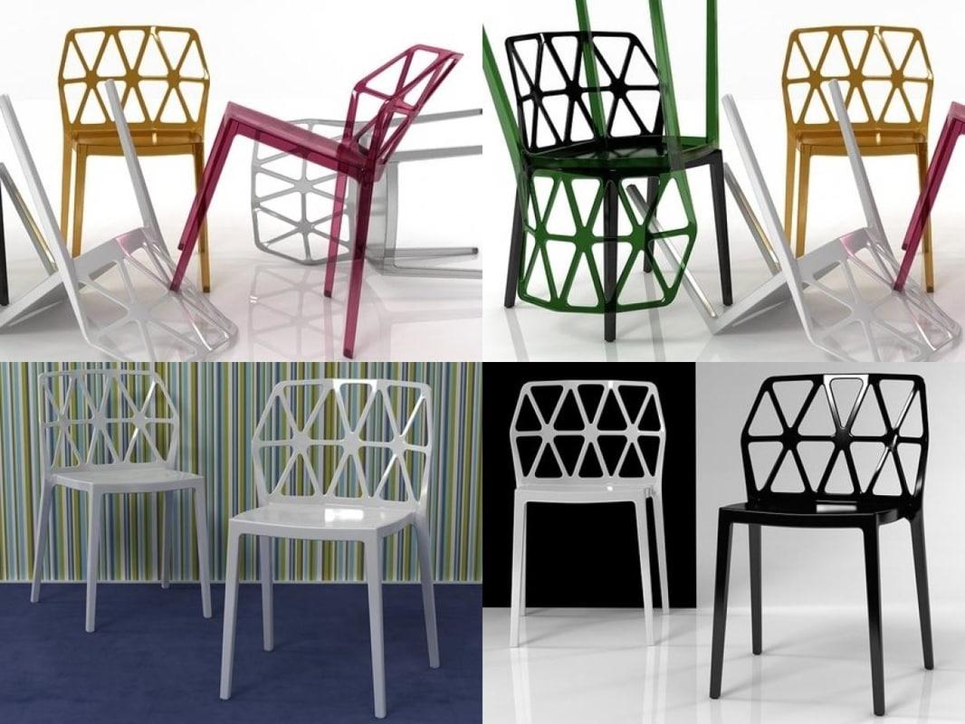 chair 08 3D model