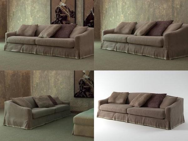 fayence sofa 02 3D