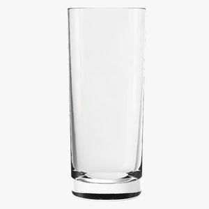 3D model cooler glass