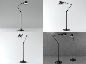 atelier task floor lamp 3D model