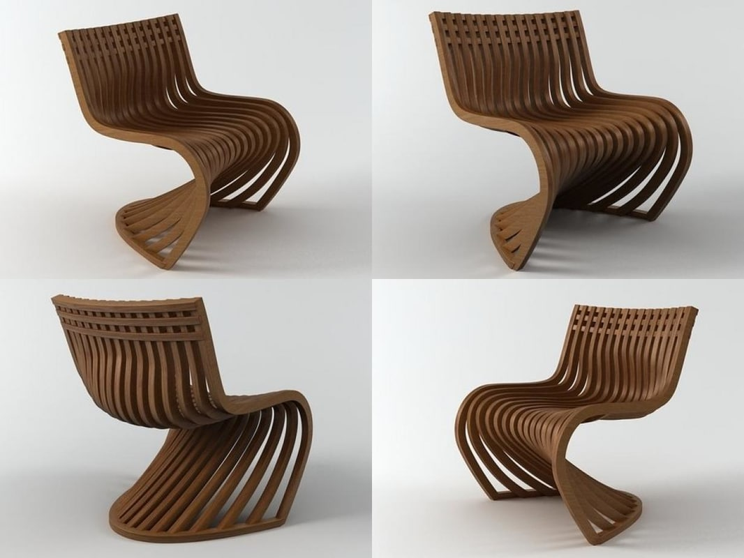 3D model pantosh chair n