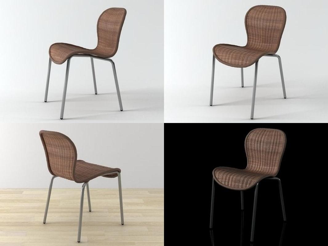net chair 3D model