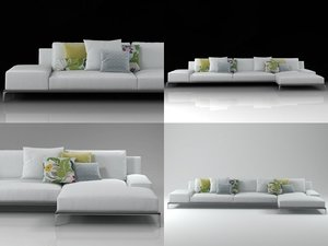 3D park sofa 02