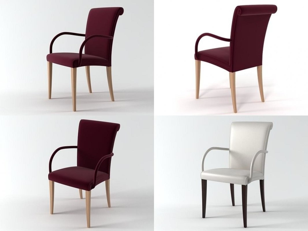 3D model vittoria chair