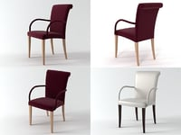 3D model vittoria chair