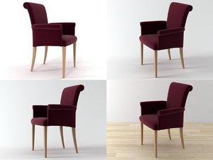 3D vittoria armchair