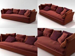 3D model cove sofa 02