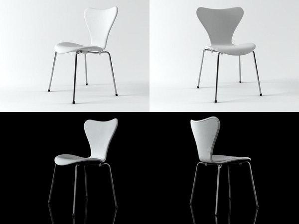 3D ant 3107 upholstered model
