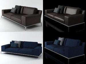 3D park sofa 245 model