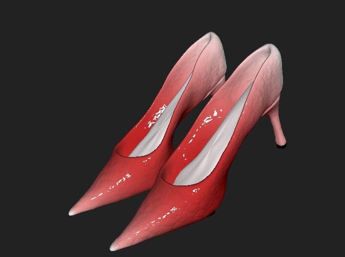 3D women s boots