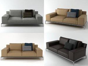 park sofa 215 3D model