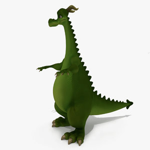 dragon cartoon 3D model