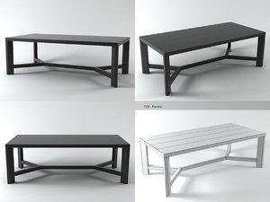 3D zeus table 220 model