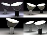 3D model taccia flos