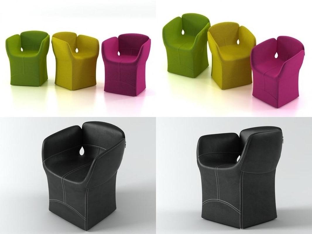 bloomy chair model
