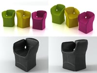 bloomy chair model